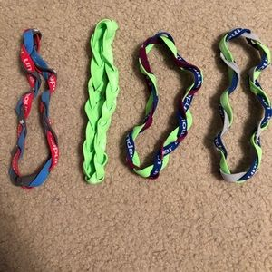Under Armor braided headbands bundle
